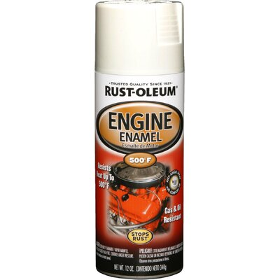 RustoleumAutomotive 12 Oz Universal White Engine Enamel Spray Paint 248954