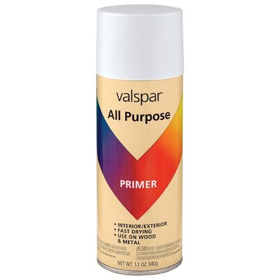 Valspar Primer All Purpose White Spray Paint