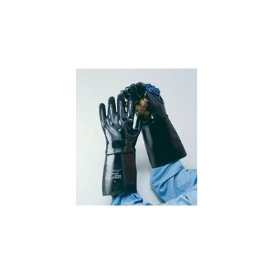 "Ansell 10 Neox® Fully Coated Neoprene Glove With 18"" Gauntlet Cuff"