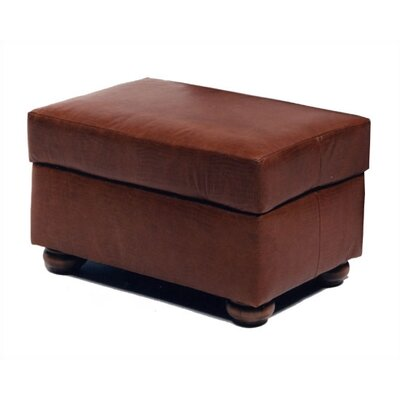 Alligator Leather Ottoman
