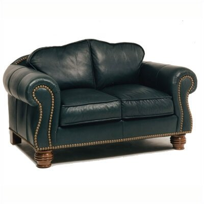 Distinction Leather Carlton Leather Loveseat