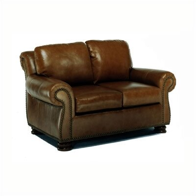 Hilton Leather Loveseat