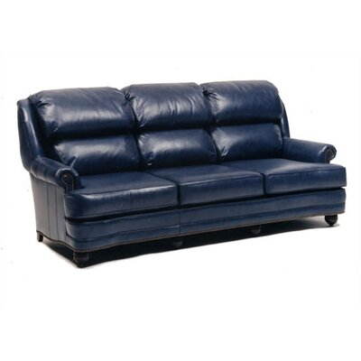 Distinction Leather Hi Back Pub Sleeper Sofa and Chair Set