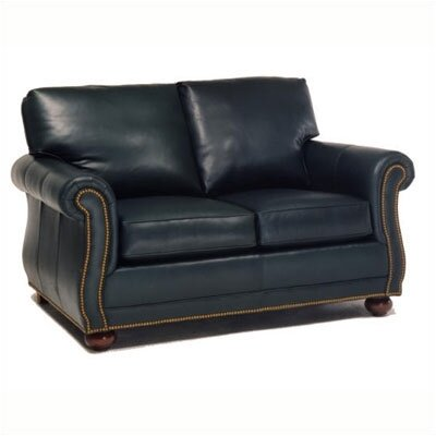 Manchester Leather Loveseat