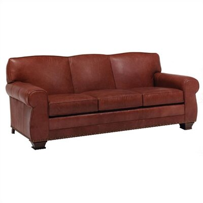 Distinction Leather Hampton Leather Sleeper Sofa
