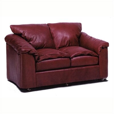Distinction Leather Denver Leather Loveseat