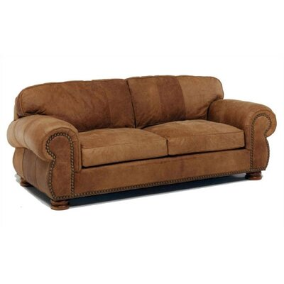 Beaumont Leather Loveseat