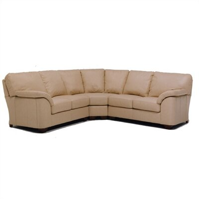 Distinction Leather Regis Leather Sectional