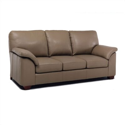 Regis Right Leather Sofa