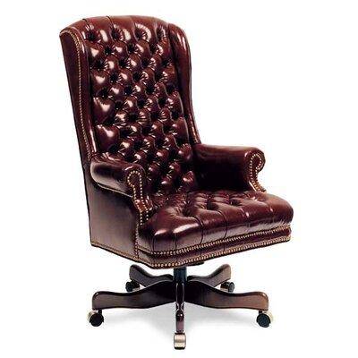 Genuine Leather Office Chair | Wayfair