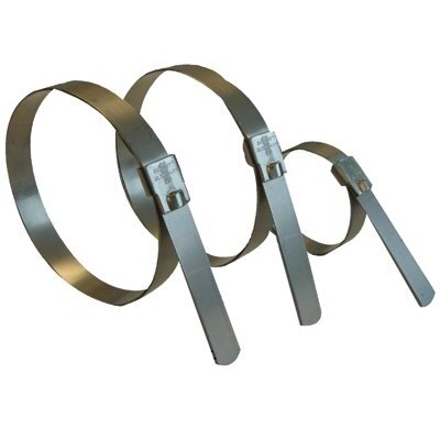 "Band-It Ultra-Lok® Preformed Clamp - 6"" ultra-lok smooth i.d.preformed clamps"