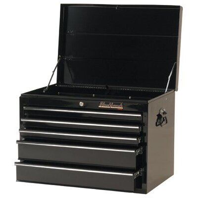 "Blackhawk 5 Drawer Top Chests - chest 27"" 5 drawer blk"