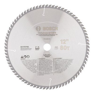 Bosch Power Tools Bosch Power Tools - Professional Series Metal Cutting Circular Saw Blades 12 In 80 Tooth Steel Cutting Circular Saw Blade: 114-Pro1280St - 12 in 80 tooth steel cutting circular saw blade