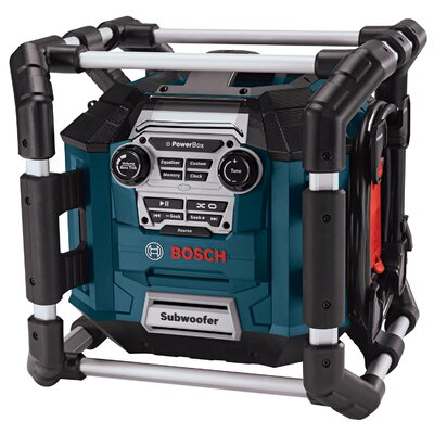 Bosch Power Tools Basic Power Jobsite Radio With MP3  PB360S