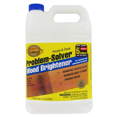 CabotStain 1 Gallon Problem-Solver® Wood Brightener 140-8003 GL