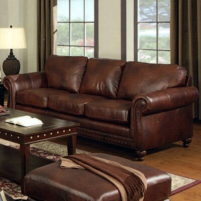 Nailhead Trim Upholstery Sofa | Wayfair