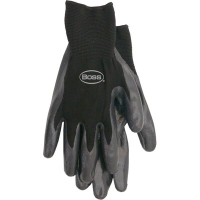 Boss Manufacturing Company Nitrile Palm Gloves