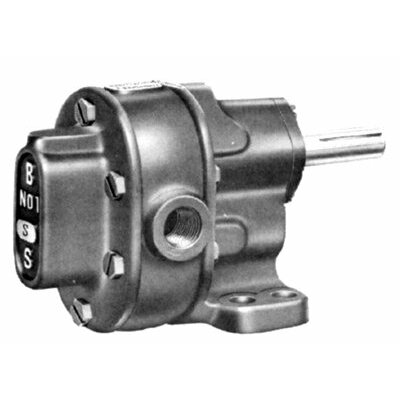 BSM Pump S-Series Pedestal Mount Gear Pumps - 1s rotary gear pump footmtg worv cw