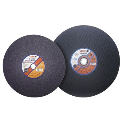 "CGW Abrasives Type 1 Cut-Off Wheels, Chop Saws - 14""x3/32""x1"" a36-p-bf ref chop saw bld"