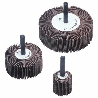 CGW Abrasives Flap Wheels - 2x1/2x1/4 alum oxide 60grit flap wheel