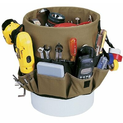CLC Custom Leather Craft Bucket Organizers - 48-pocket bucket pocketsin & out