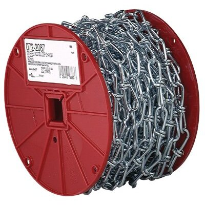 Cooper Tools Inco Double Loop Chains - #2 bk inco double loop chain