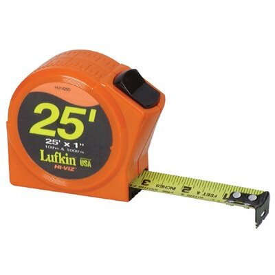 "Cooper Tools Hi-Viz® Series 1000 Power Return Tapes - 3/4""x12' series 1000 hi-vis orange power tape"