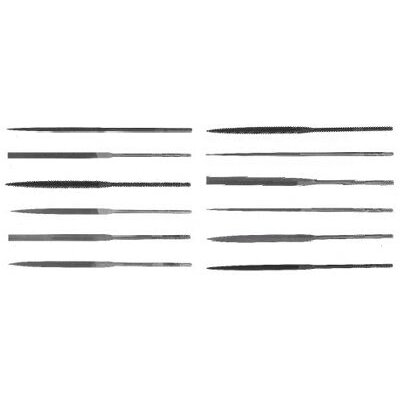 "Cooper Tools X.F® Swiss Pattern Crossing Needle Files - 5-1/2"" rhn-2 slittingneedle file"