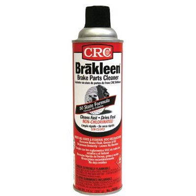 Crc Brakleen® Non-Chlorinated Brake Parts Cleaners - 50 state formula brakleen