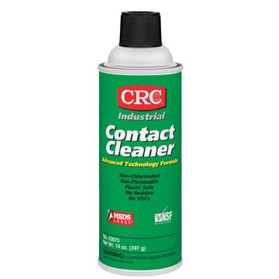 Crc Industrial Contact Cleaners - 16oz contact cleaner