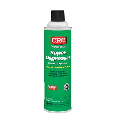 Crc Super Degreaser™ Industrial Cleaners - 20-oz. aerosol super deg