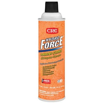 Crc HydroForce® Foaming Citrus All Purpose Cleaners - 20-oz. aerosol hydroforce foam citrus cleaner