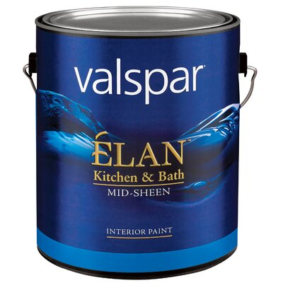 Valspar 1 Gallon Pastel Base Élan™ Kitchen & Bath Latex Interior Paint Mid-Sheen