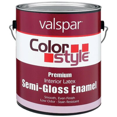 Valspar 1 Gallon ColorStyle® Interior Latex Semi Gloss Enamel Paint 44-262