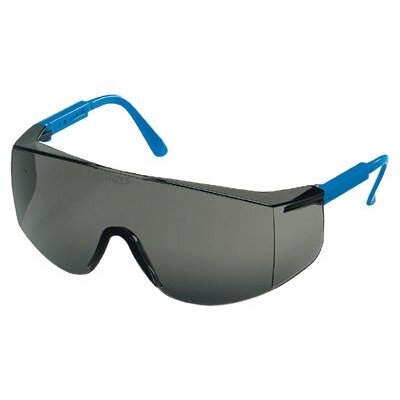 Crews Tacoma® Protective Eyewear - cr tc122 blue/grey adj-ctdcr tc122