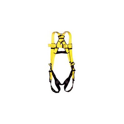 DBI/Sala Size Vest Style Full Body Harness With Tongue Buckle Straps