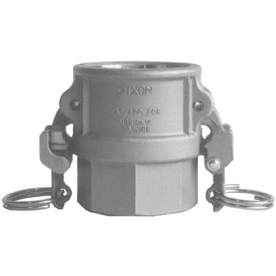 "Dixon Valve EZ Boss-Lock Type D Cam and Groove Couplers - 2"" ss ez boss-lock typed cam & groove coupler"