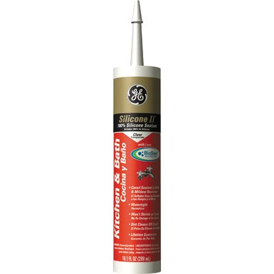 GE Clear Silicone Kitchen Sealant GE5040