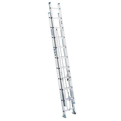 Werner 16' Aluminum Extension Ladder D1316-2