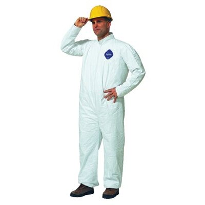 DuPont Tyvek® Coveralls - dupont tyvek coverall zip ft  size xl