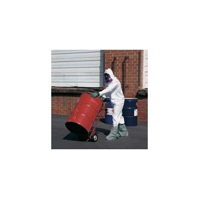 DuPont Tyvek® White Coverall With Zipper Front Attached Hood And Boots With Elastic Wrists And Face