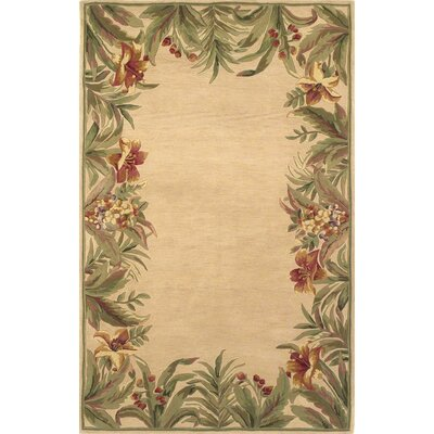 Sparta Rainforest Floral Novelty Rug
