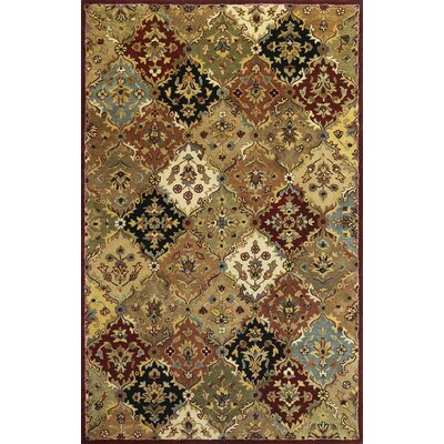 KAS Oriental Rugs Taj Palace Jeweltone Panel Rug