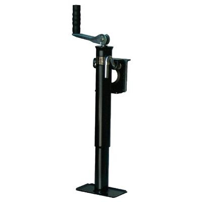 "Dutton-Lainson Tongue Jacks - 22680 10"" top wind tongue jack w/weld-on b"