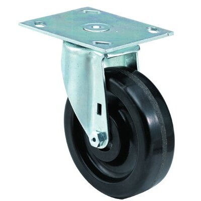 E.R. Wagner Medium Duty Institutional Casters - 4x1-1/2 institutional 99plate swivel caster