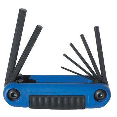 Eklind Tool Ergo-Fold™ Hex Key Sets - 7 piece ergo-fold smallmetric hex key set