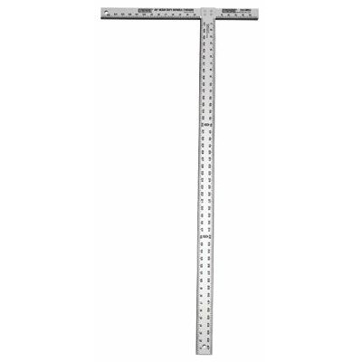 "Empire Level T-Squares - 41848 3/16""thick 47-7/8""hd bld.prof.drywall t-sq"