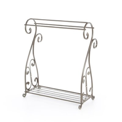 Passport Furniture Iron Accents Quilt Rack