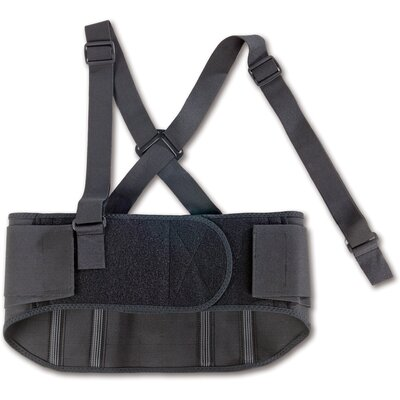 Ergodyne ProFlex 1600 Standard Elastic Back Support in Black