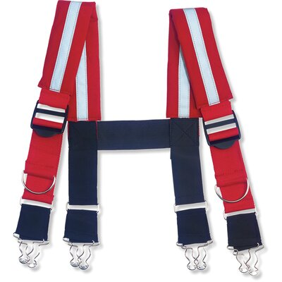 "Ergodyne Arsenal 5093 2"" Quick Adjust Suspenders-Reflective"